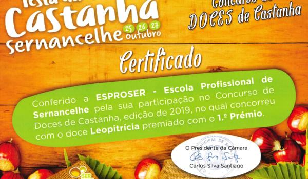 Concurso de doces da castanha - Festa da Castanha 2019