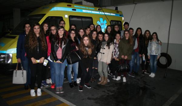 Visita de Estudo ao INEM - Coimbra