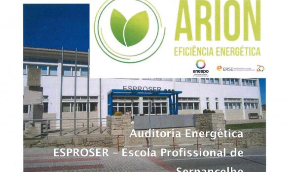 """A ESPROSER associou-se ao projeto """"ARION"""""""