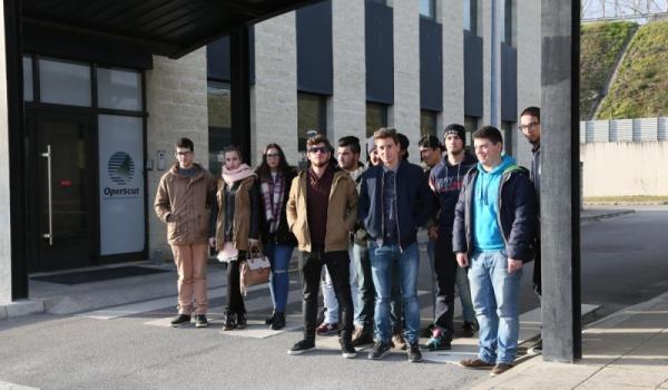 Visita de estudo à barragem de Bagaúste e ao Centro de Controlo da Operscut (A24)