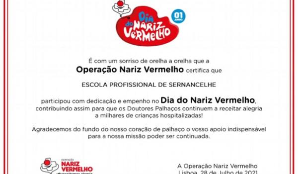 """ESPROSER participa, uma vez mais, na """"Operação Nariz Vermelho"""""""